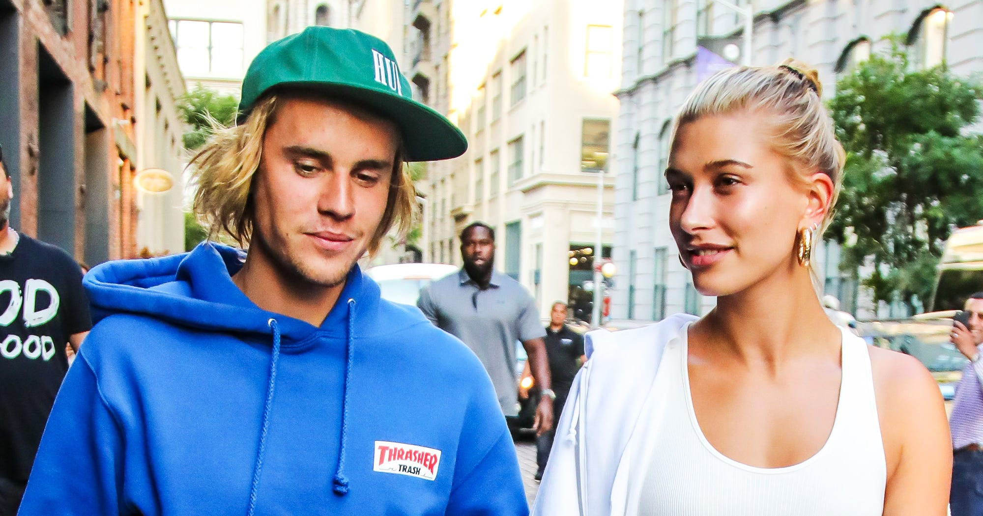 Justin Bieber & Hailey Baldwin Reportedly Visited The Marriage Bureau
