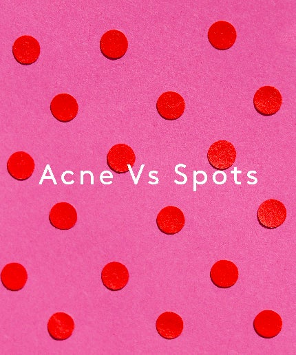 what is acne how is it different to spots