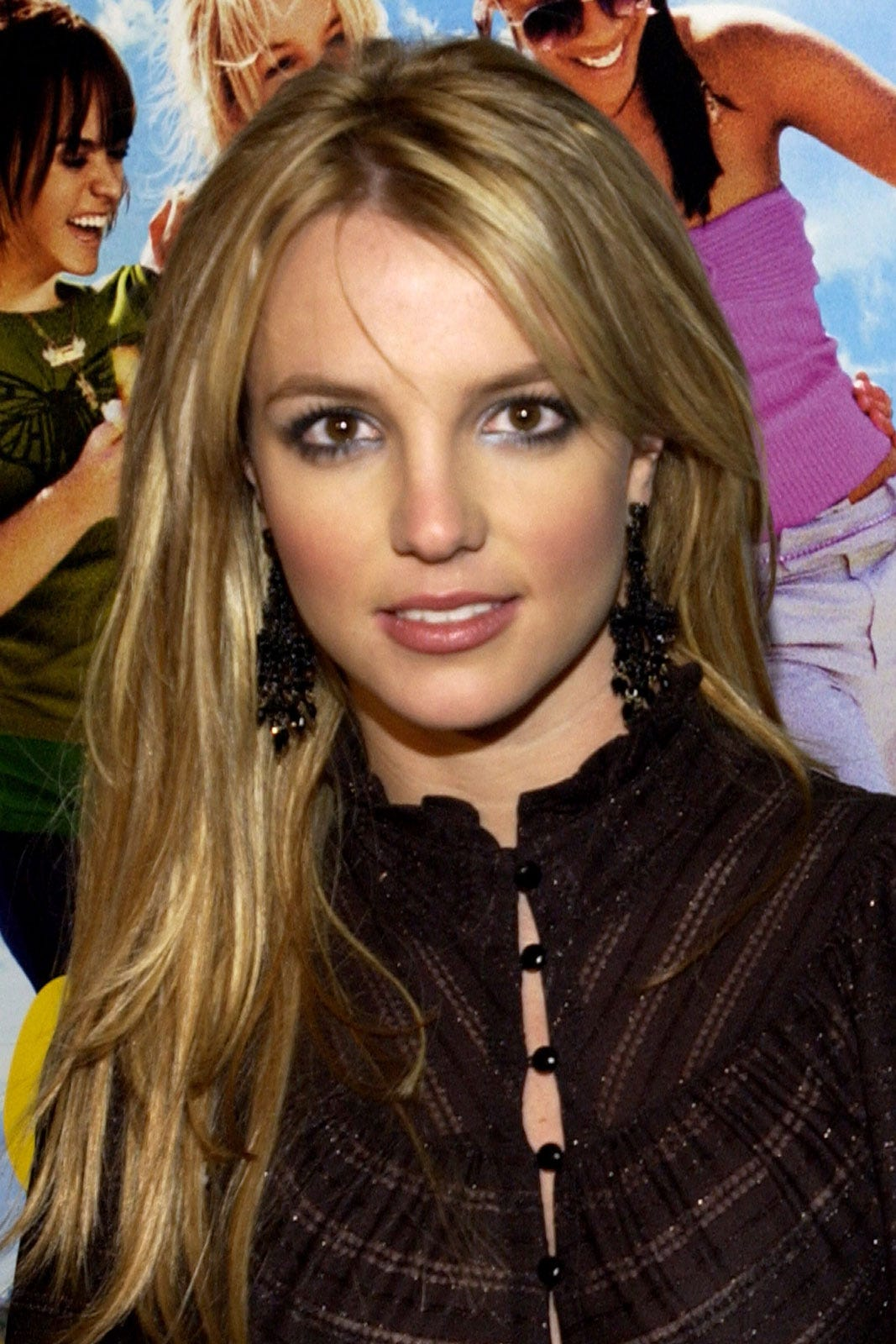 Fashion week Spears Britney new blonde hair color pictures for woman