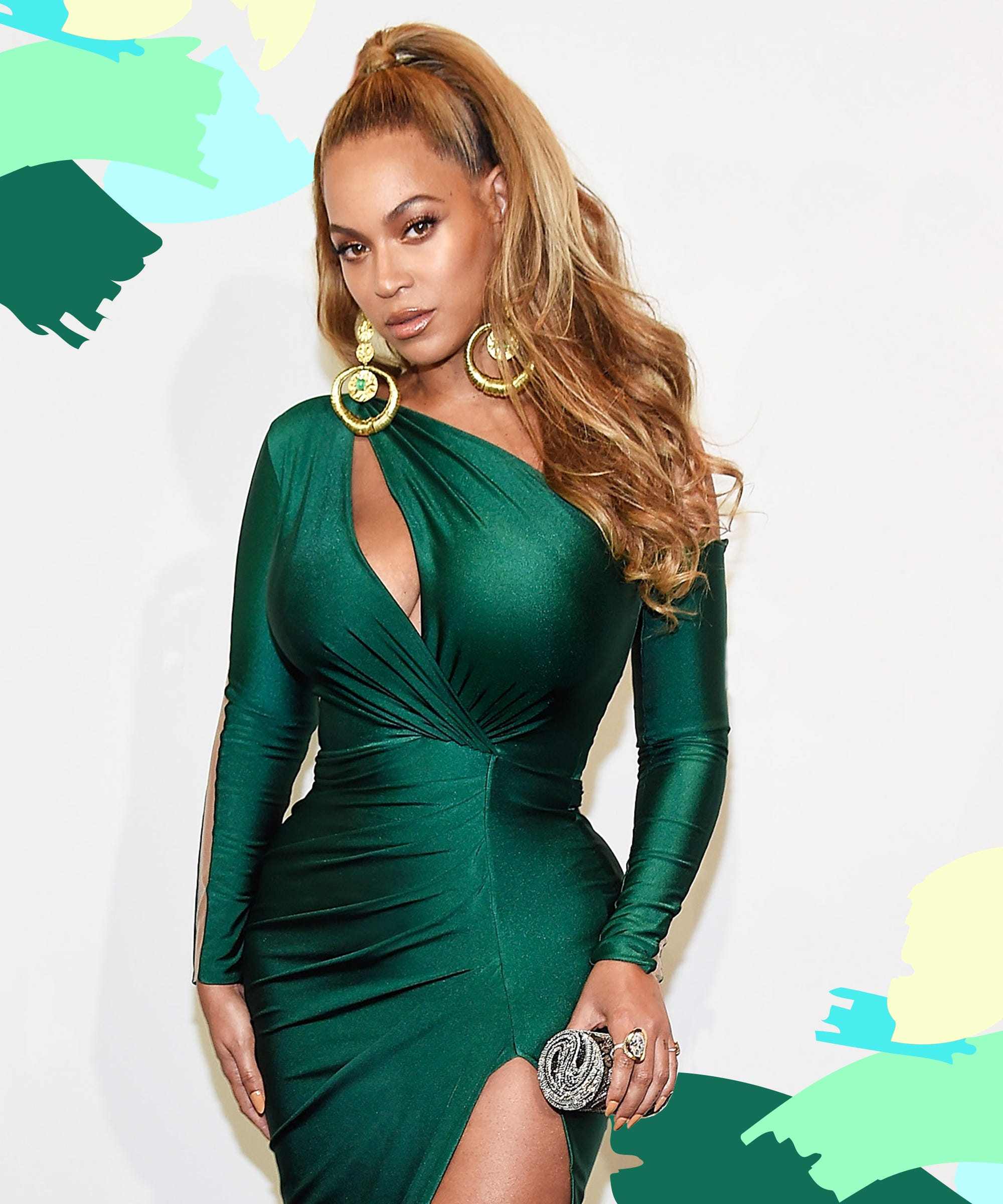 Beyonce Hair Dark Blonde Rita Hazan Colorist