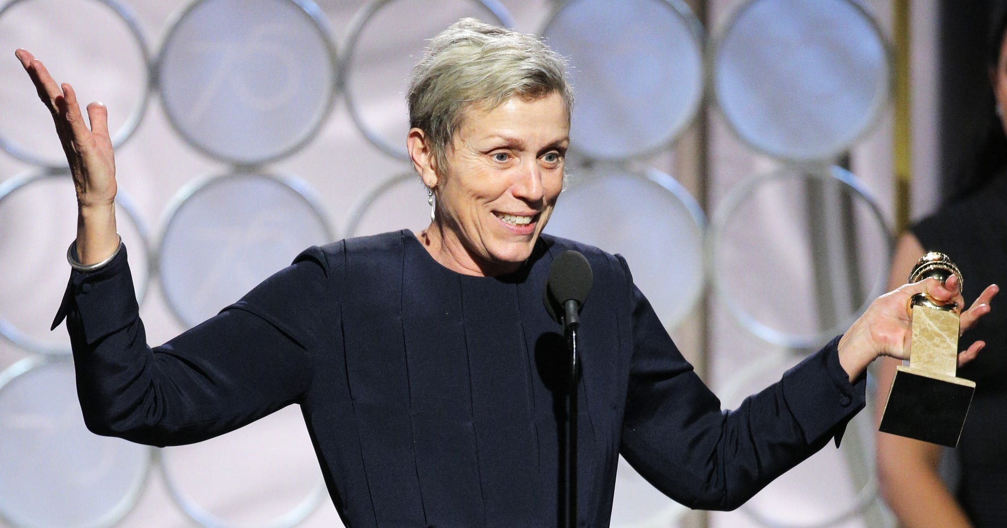 Why Frances McDormand Is The Best Actress Nominee We Deserve This Year