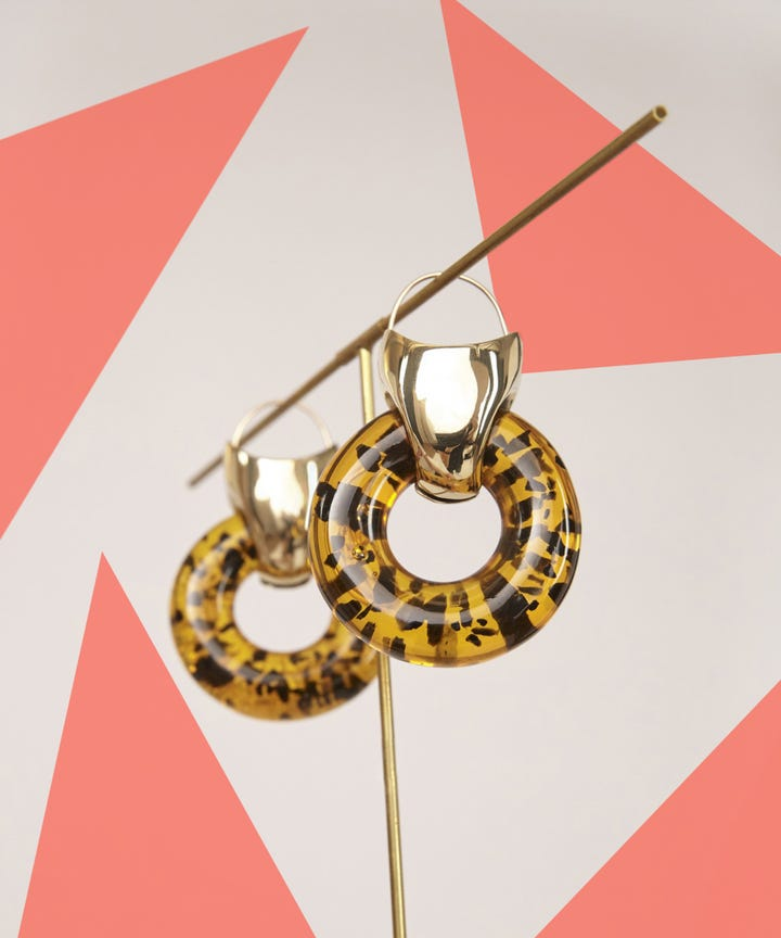 acrylic earrings trend rachel comey asos cult gaia