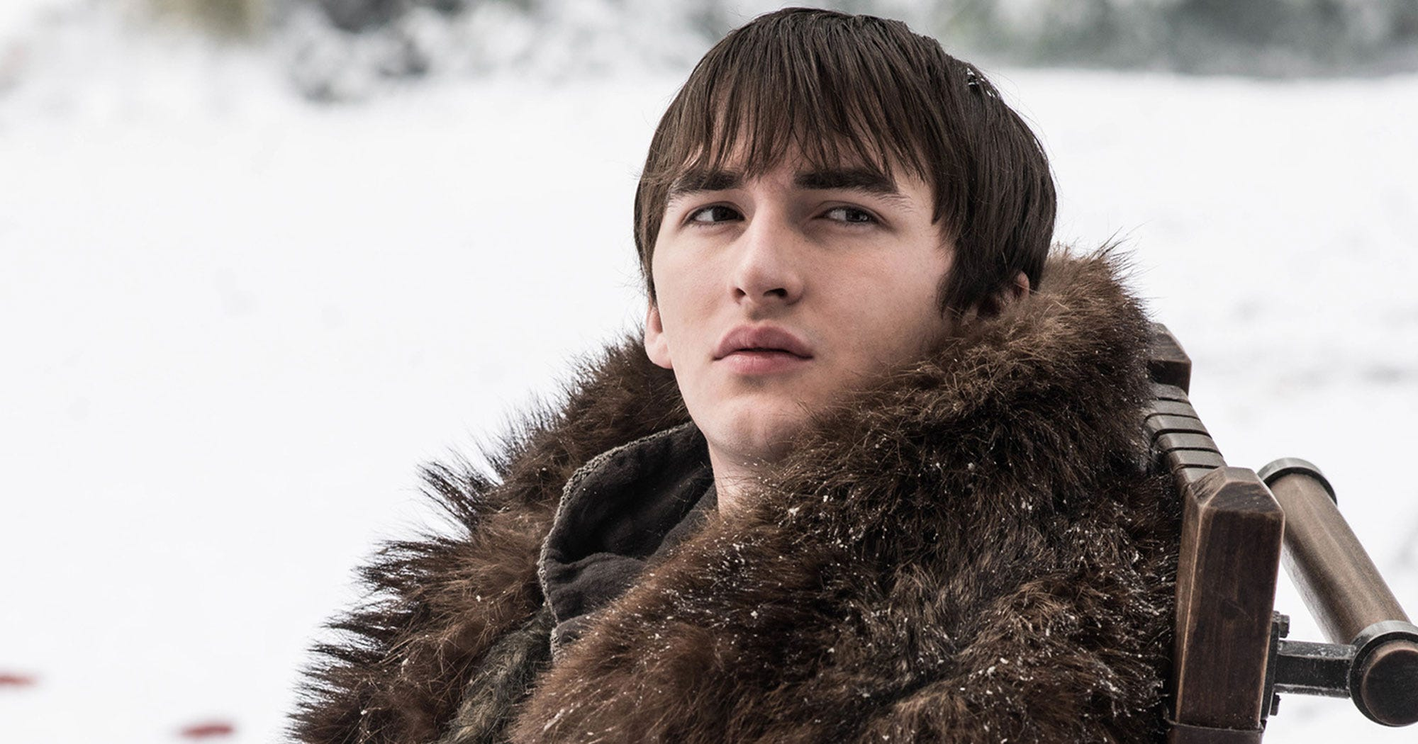 Isaac Hempstead Wright Friends With Night King Ending