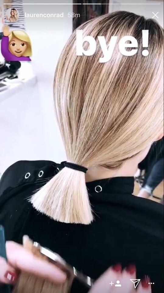 Lauren Conrad Cut Her Hair Short New Style Trend