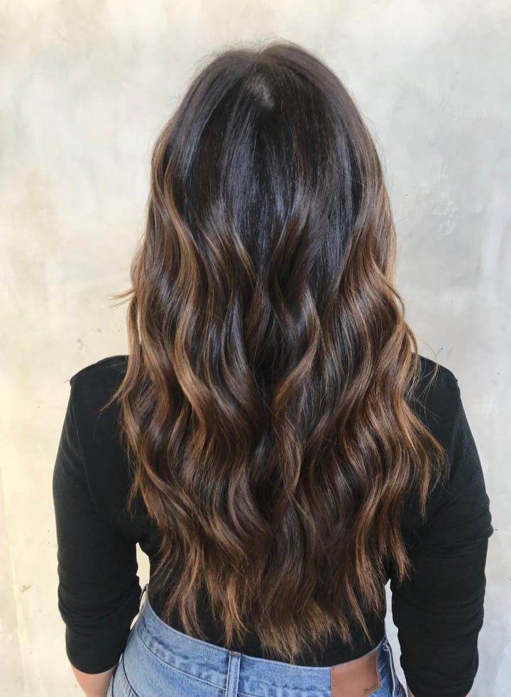 cold brew hair colour is trending for fall 2018