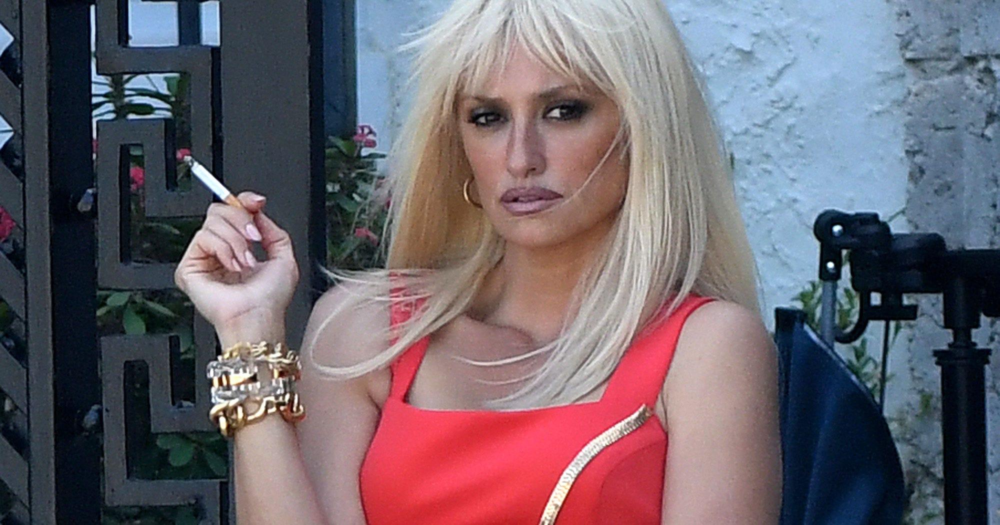 These Photos Of Penelope Cruz As Donatella Versace Are Unbelievable