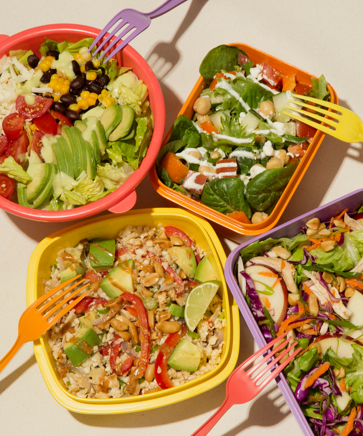 Meal prep recipe tips no cook lunch snack ideas 5 cheap healthy lunches that require zero cooking forumfinder Images