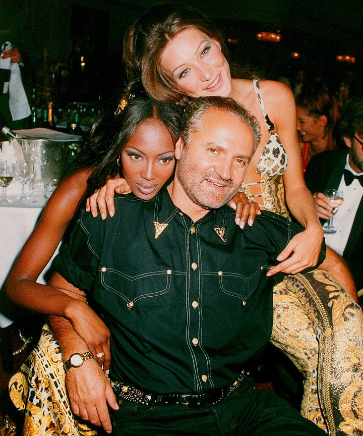 5 Firsts Gianni Versace Contributed To Fashion
