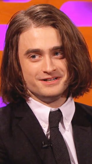 Daniel radcliffe bob hairstyle extensions interview pmusecretfo Choice Image