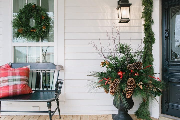 photo via joannagaines - Joanna Gaines Christmas Decor