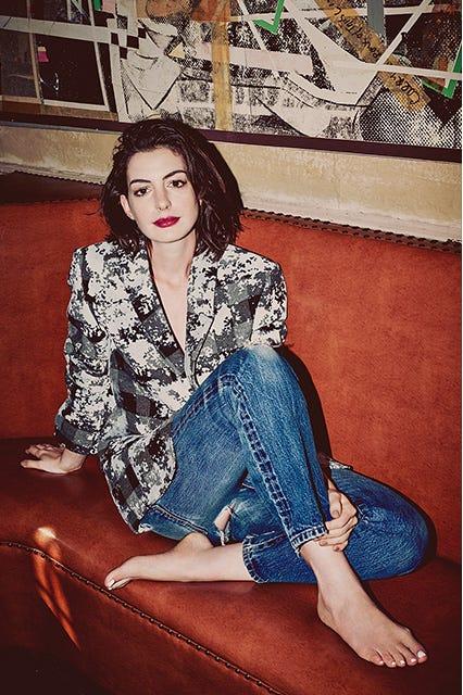 Anne Hathaway The Intern Movie Interview