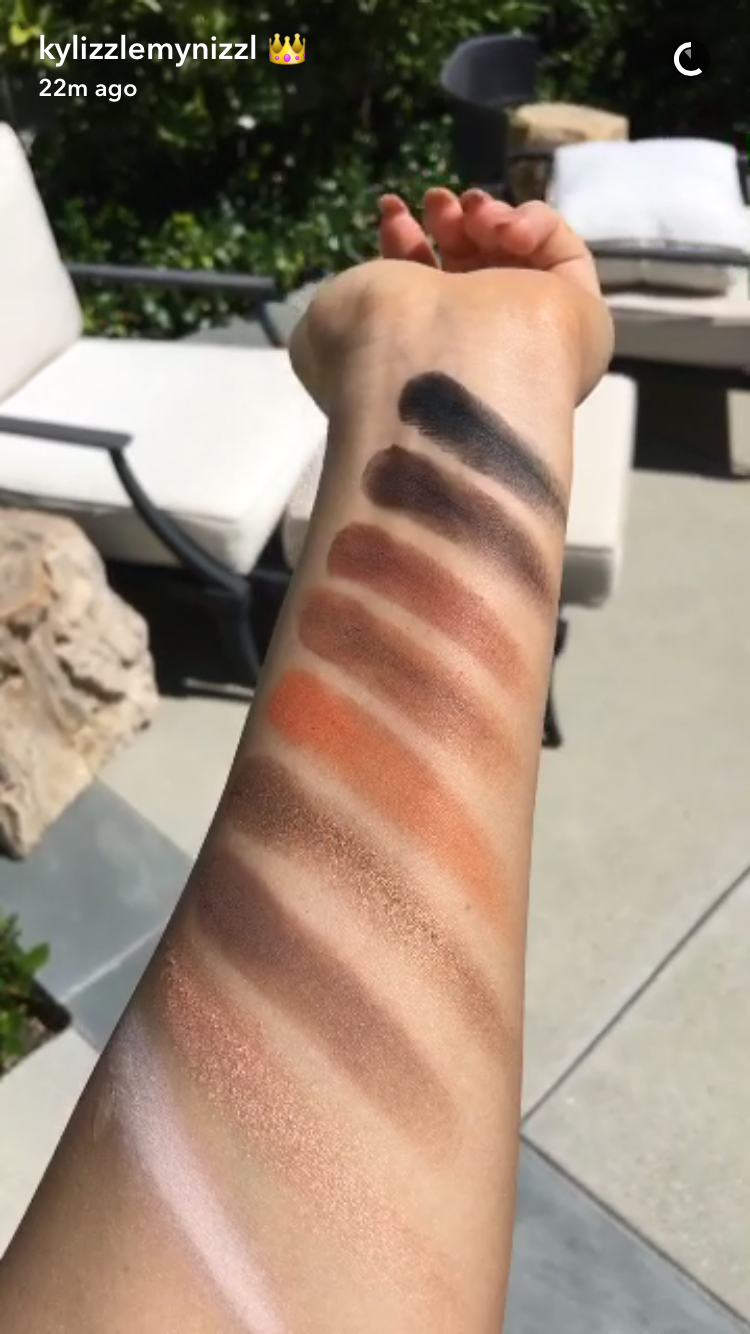Kyshadow - The Bronze Palette by Kylie Cosmetics #20
