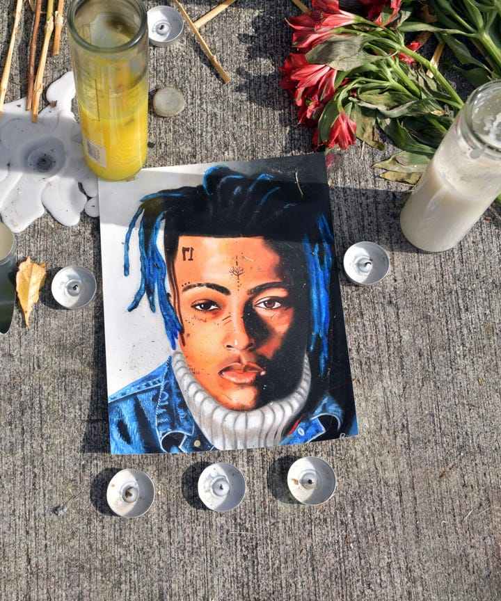 Image result for honoring xxxtentacion