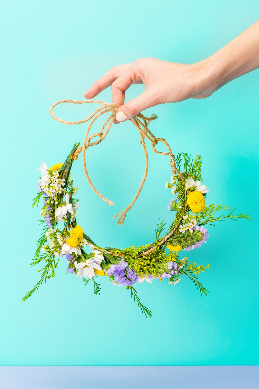 How to make a flower crown izmirmasajfo Images