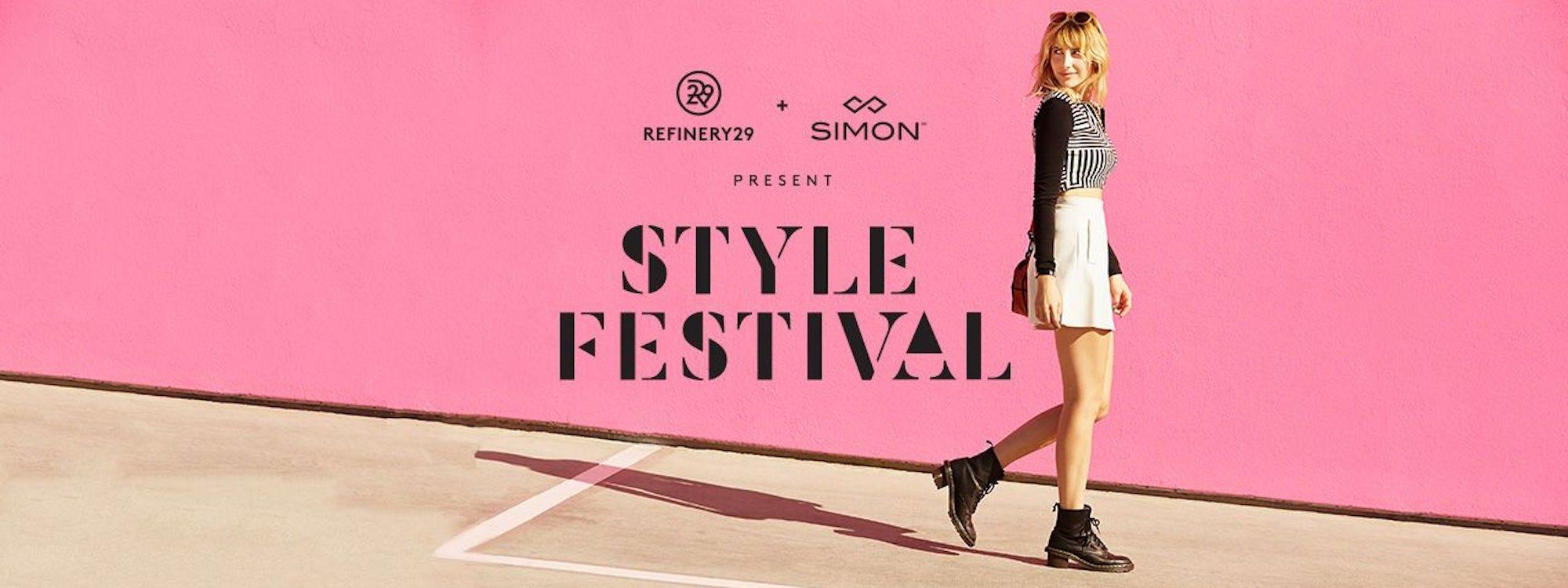 Simon Malls Style Festival Tour 2015