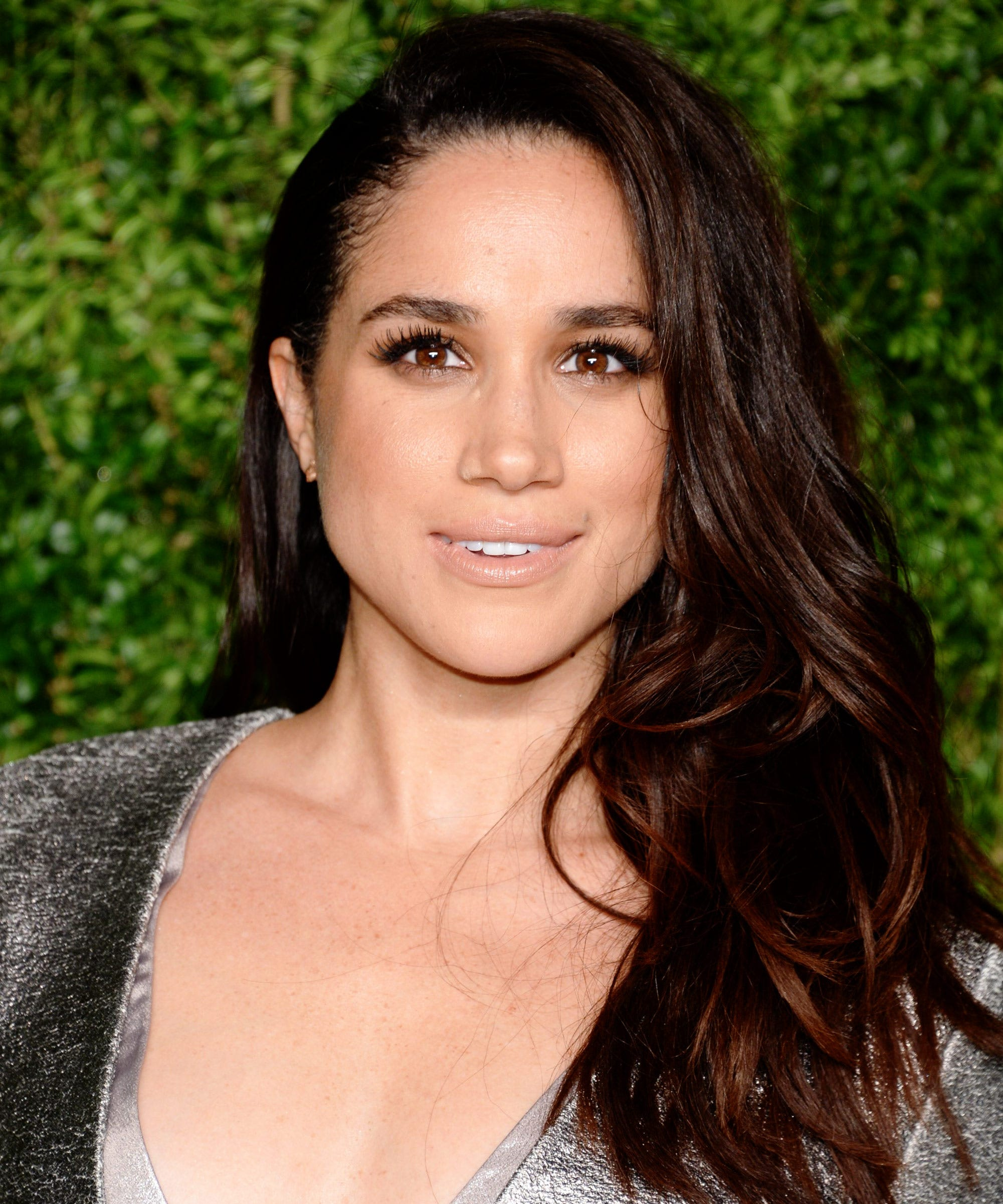 Meghan Markle Natural Curly Hair Twitter Photo