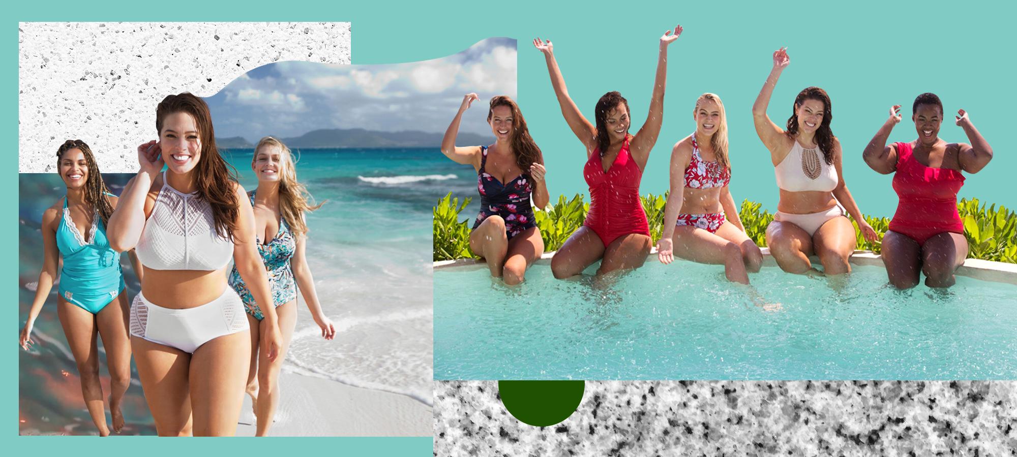 c722764711f4e Ashley Graham Plus Size Fashion Swimsuits For All