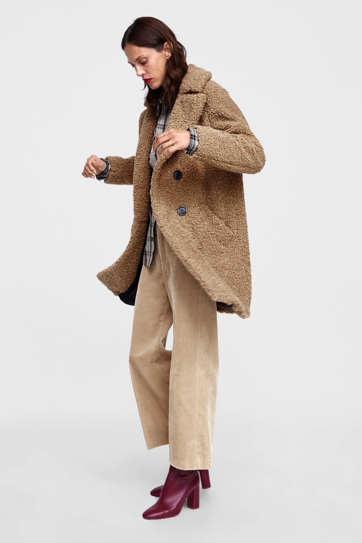 e1f2c298e1 Best Zara Winter Coats 2018: Womens Fur, Puffers & More