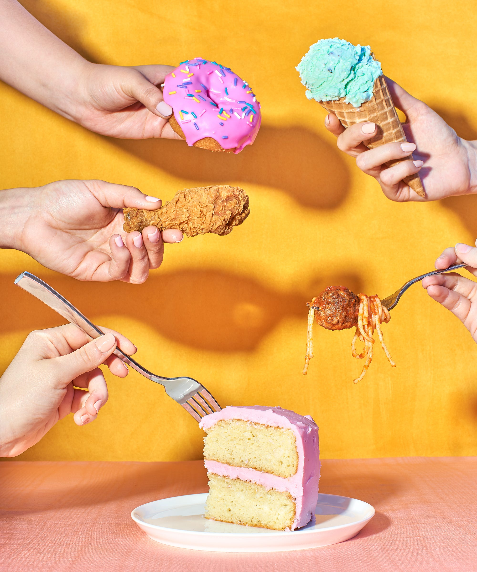 How To Eat Intuitively When Your Cravings Lead You To Donuts, Pasta & Cake