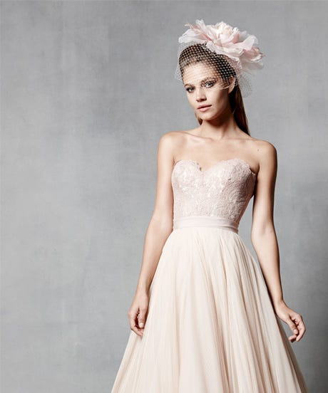 Blush Wedding Gowns - Pink Bridal Dresses