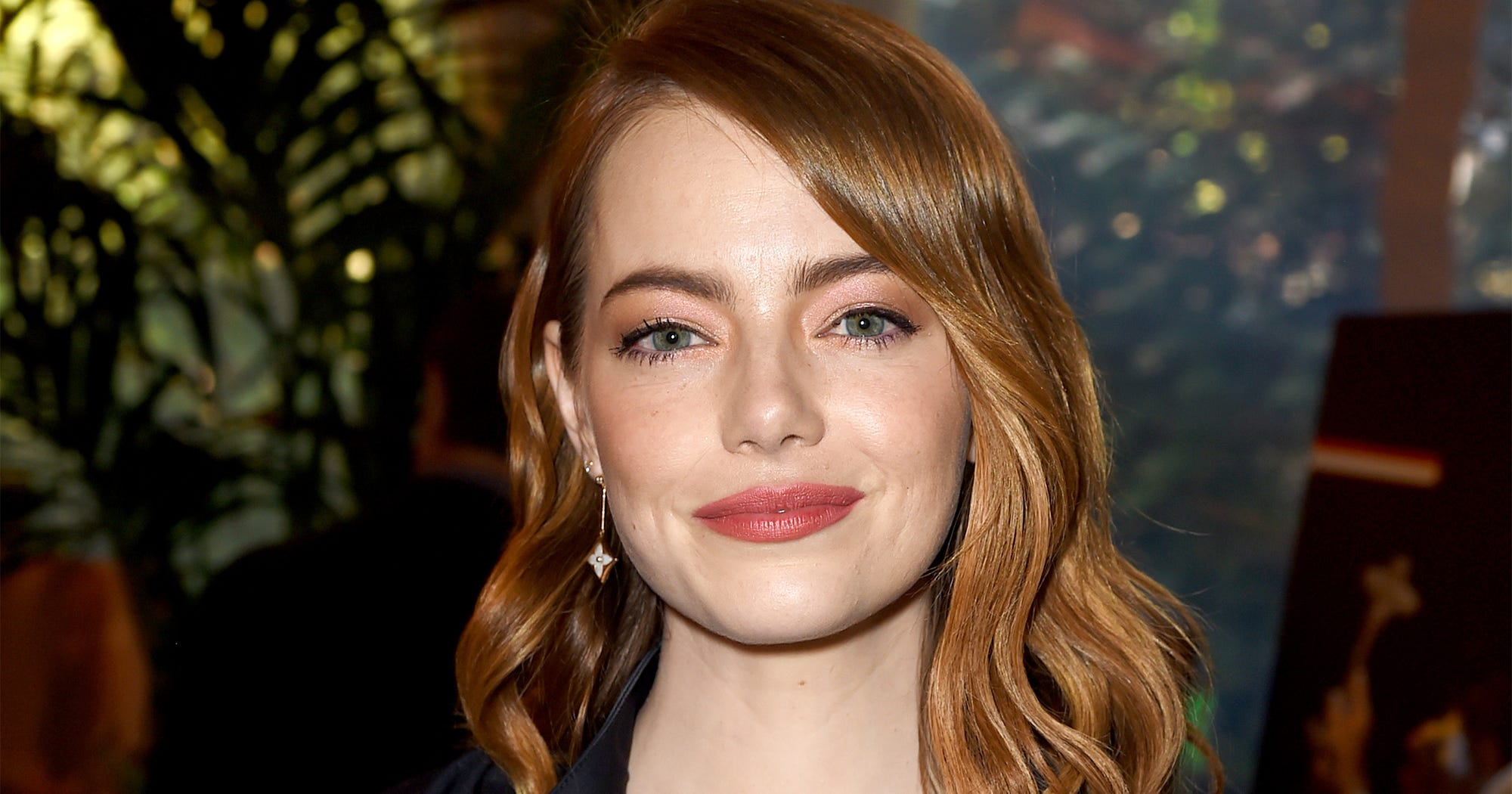Emma Stone New Brunette Brown Hair Colour Trends 2019