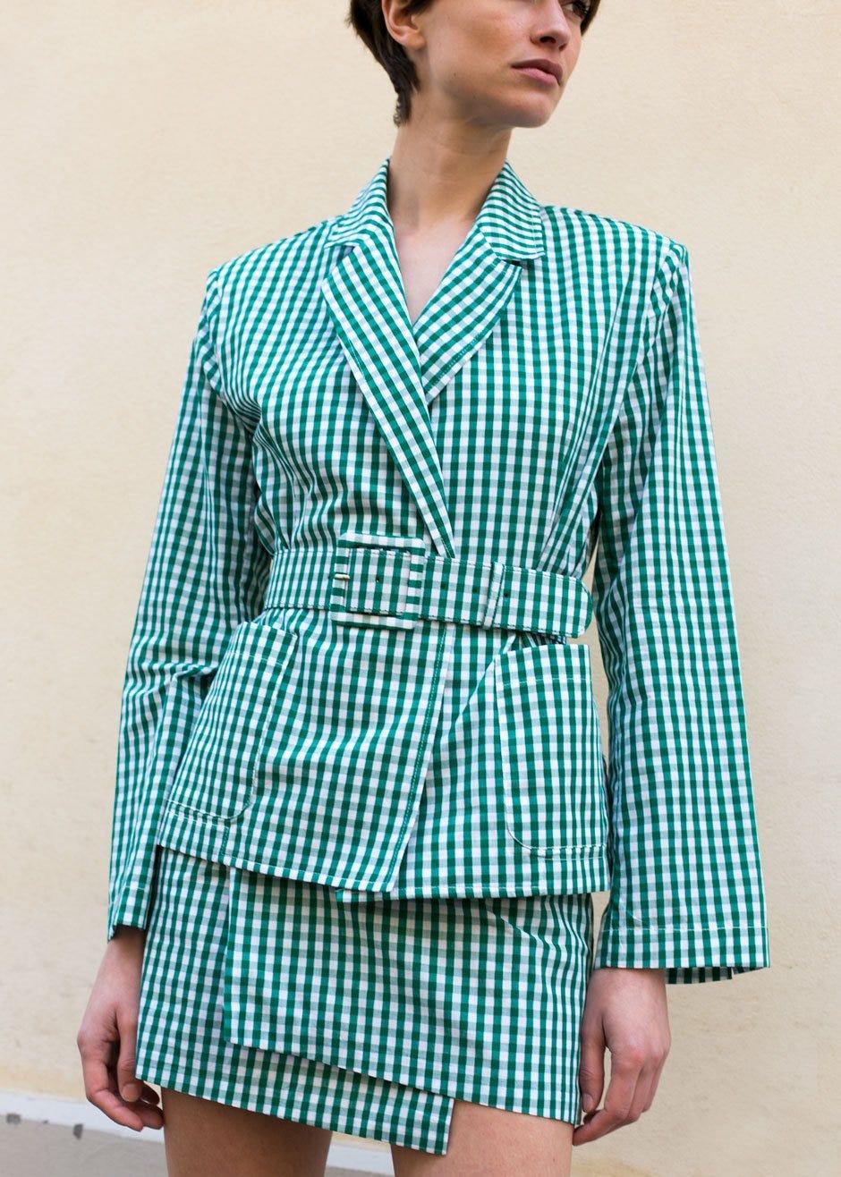 New Mini Skirt Suit Workwear Trend, Summer Trends 2018