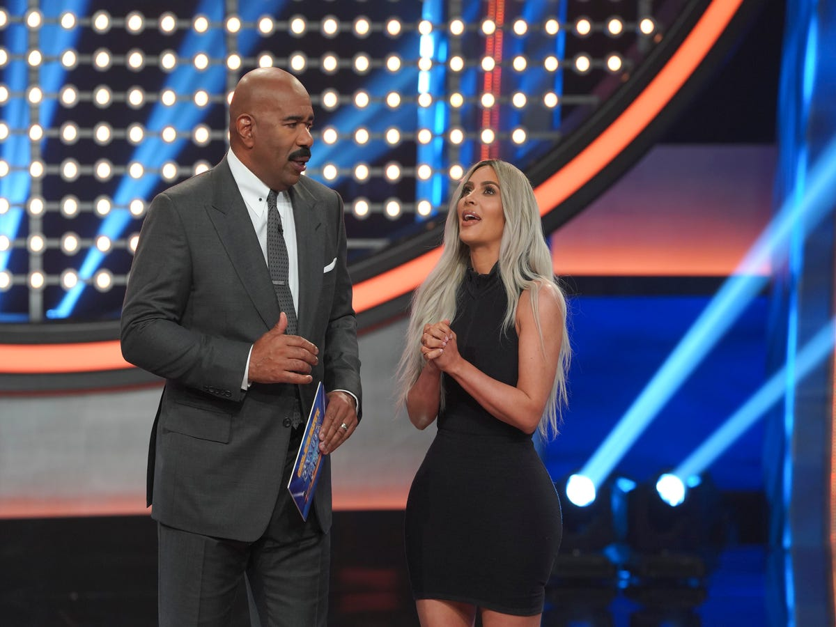 Kim Kardashian on Family Feud