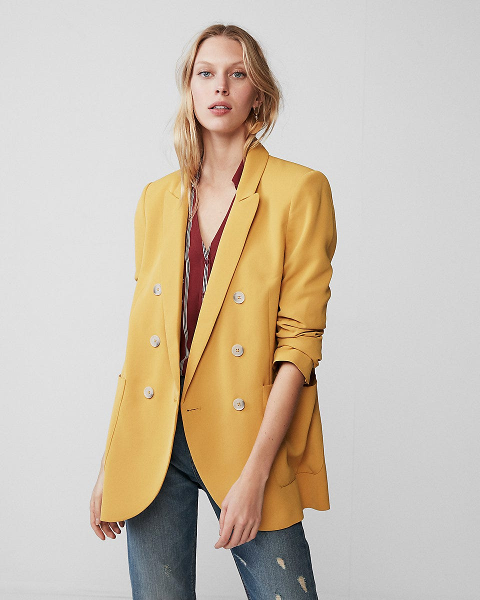 d24e7bcf9 Double Breasted Blazers For Women Fall Trend