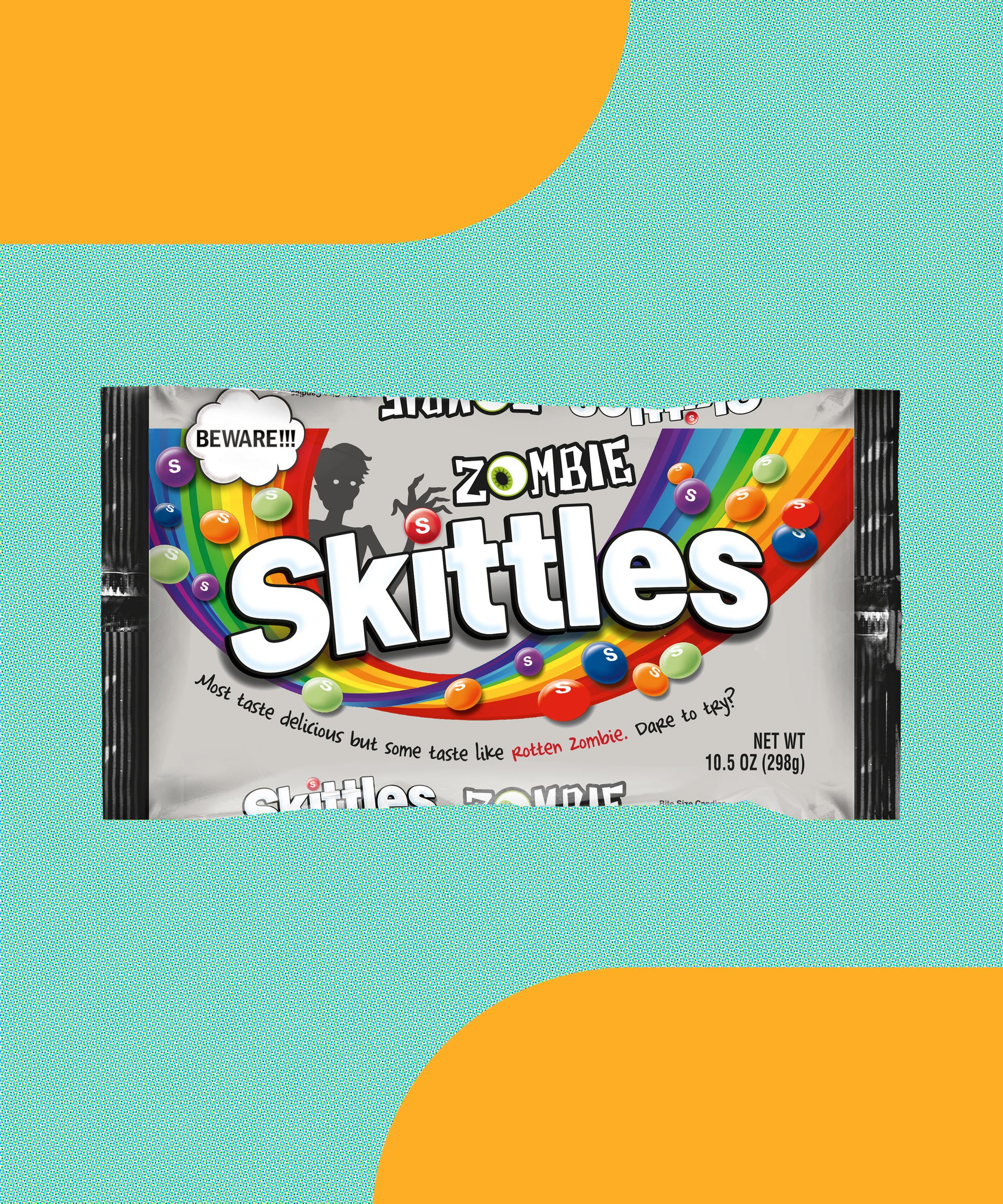 Zombie Skittles Is Giving Candy A Terrifying, Undead Twist This Halloween