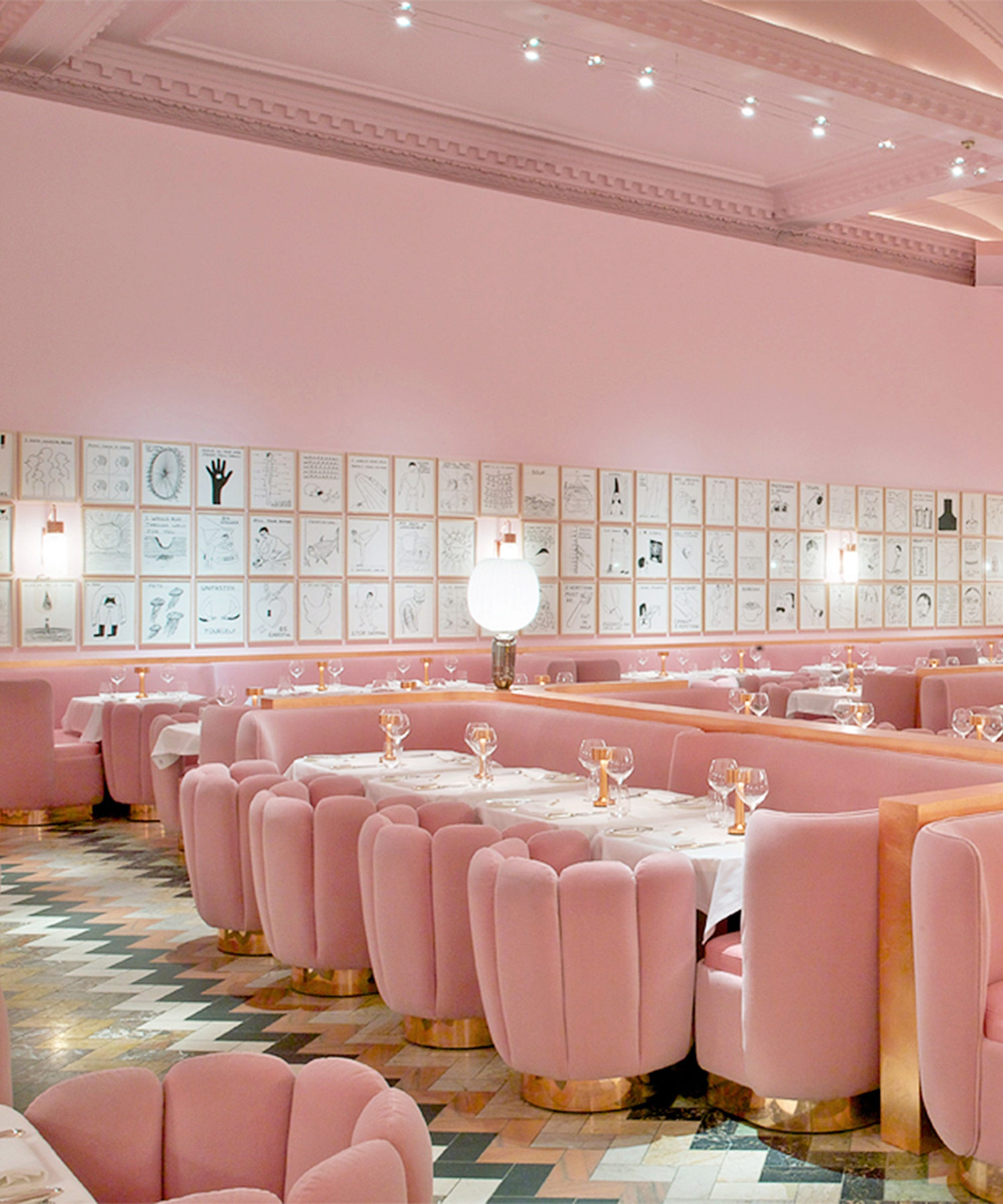 Millennial Pink Backdrops - Pink Instagram Locations