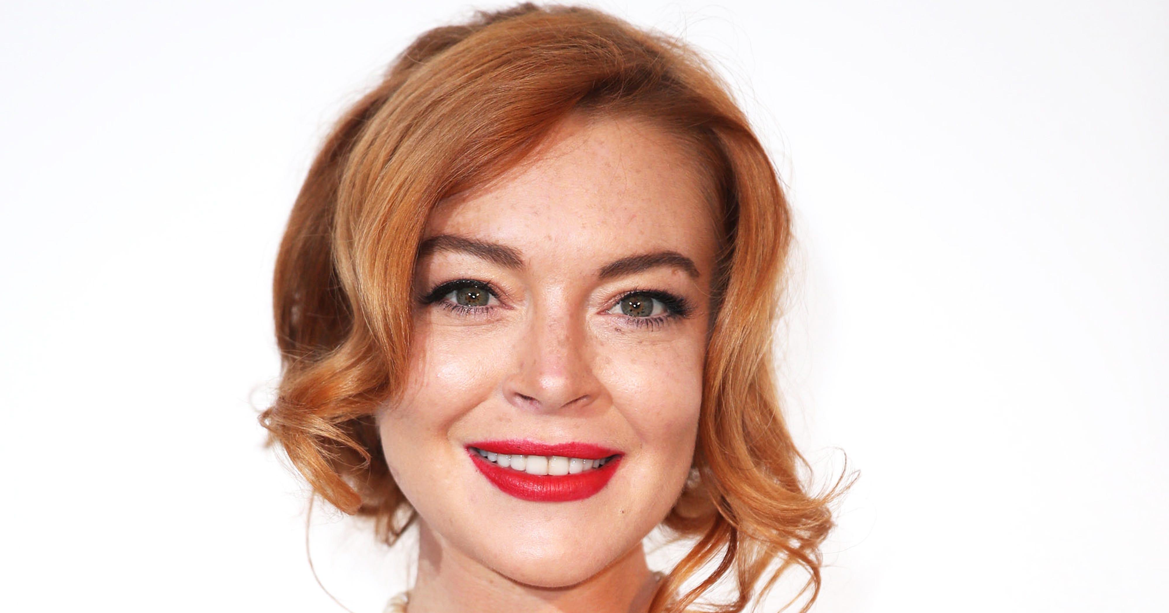 Lindsay Lohan Shows Off Her Tattoo Skills On Instagram