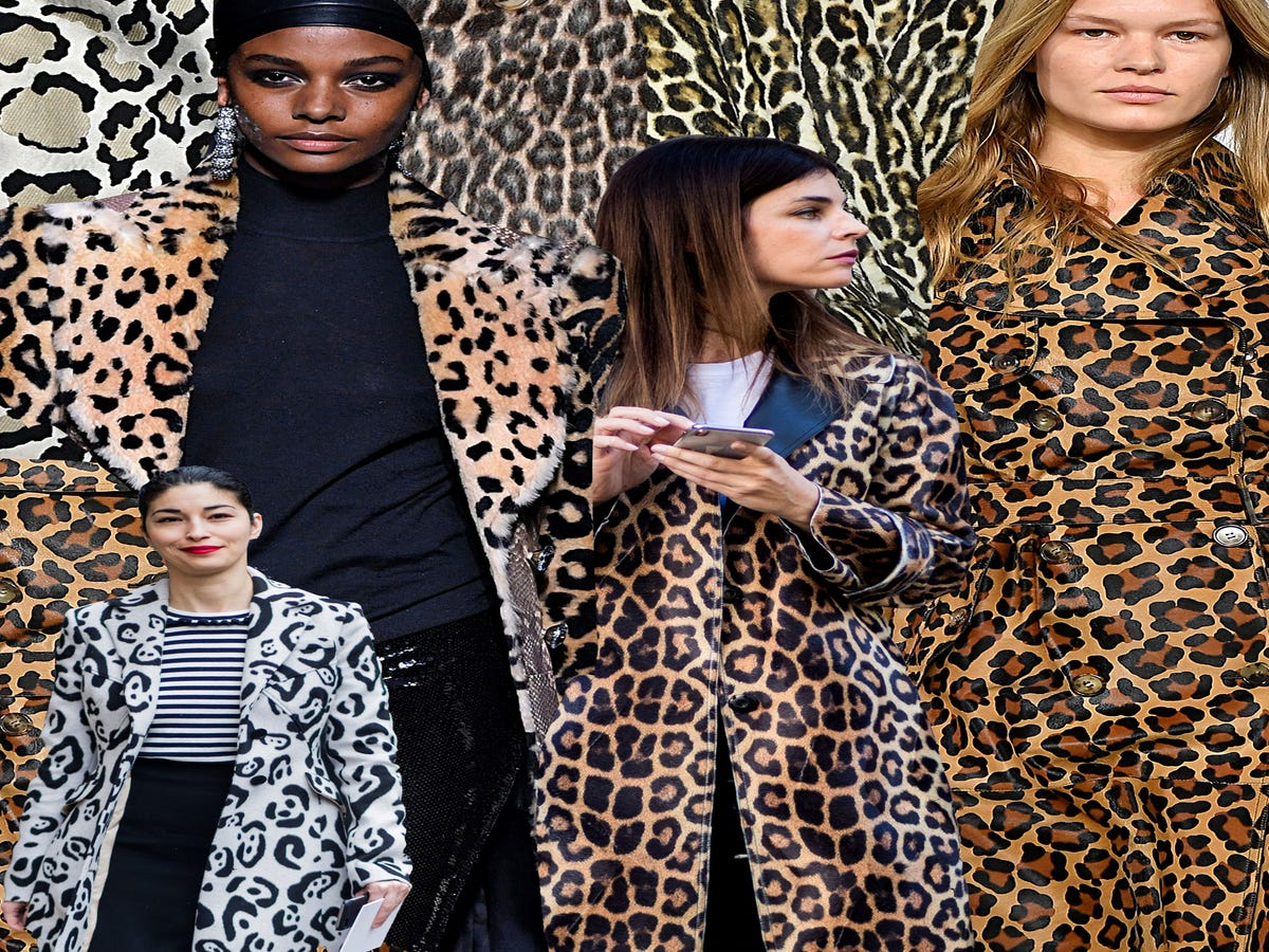 The Triumphant Return Of The Leopard Print Coat