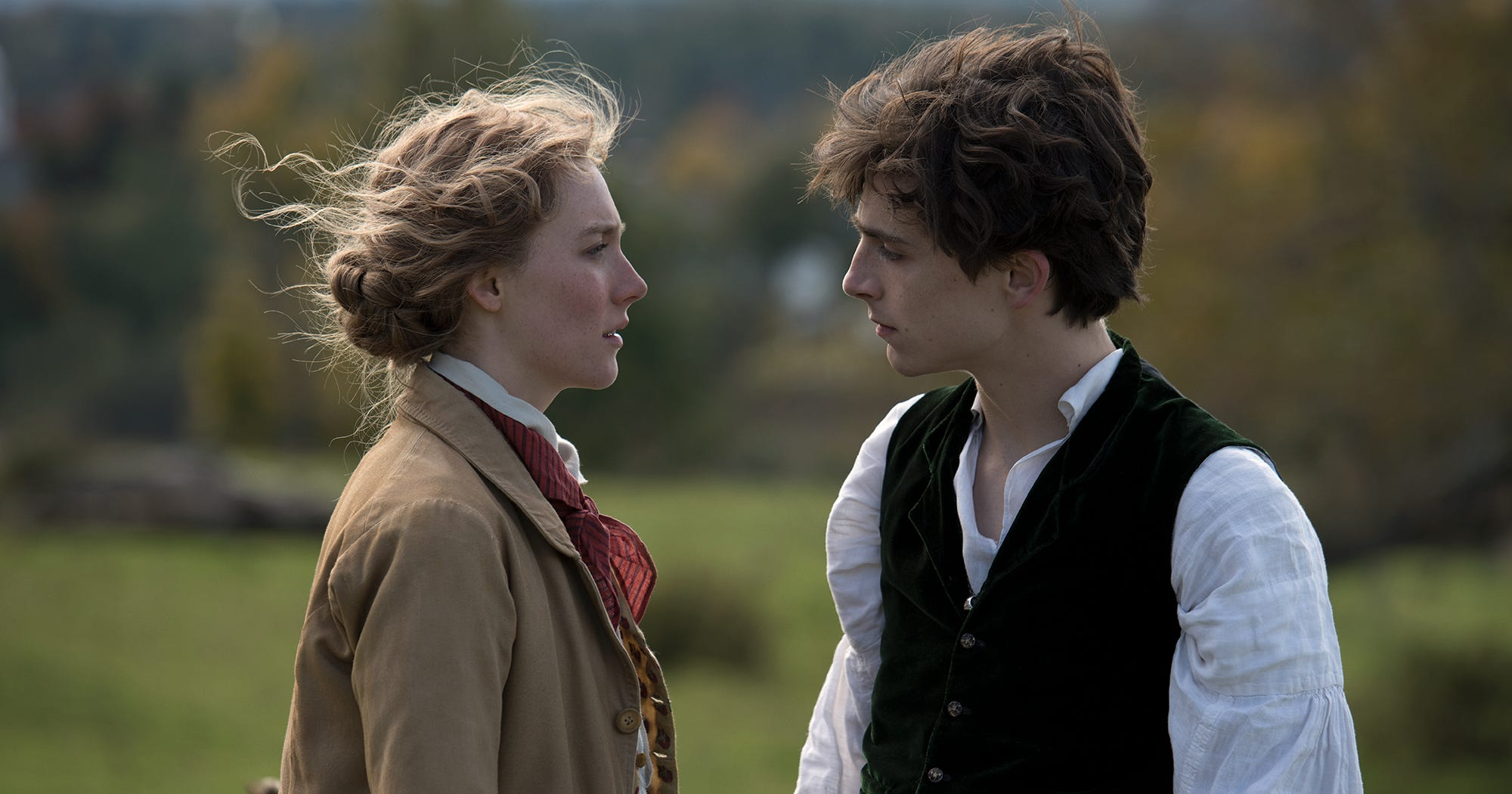 """Saoirse & Timothée Are Here To Emotionally Wreck You In The """"Little Women"""" Trailer"""