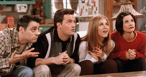 Notice Something Missing From Friends On Netflix?
