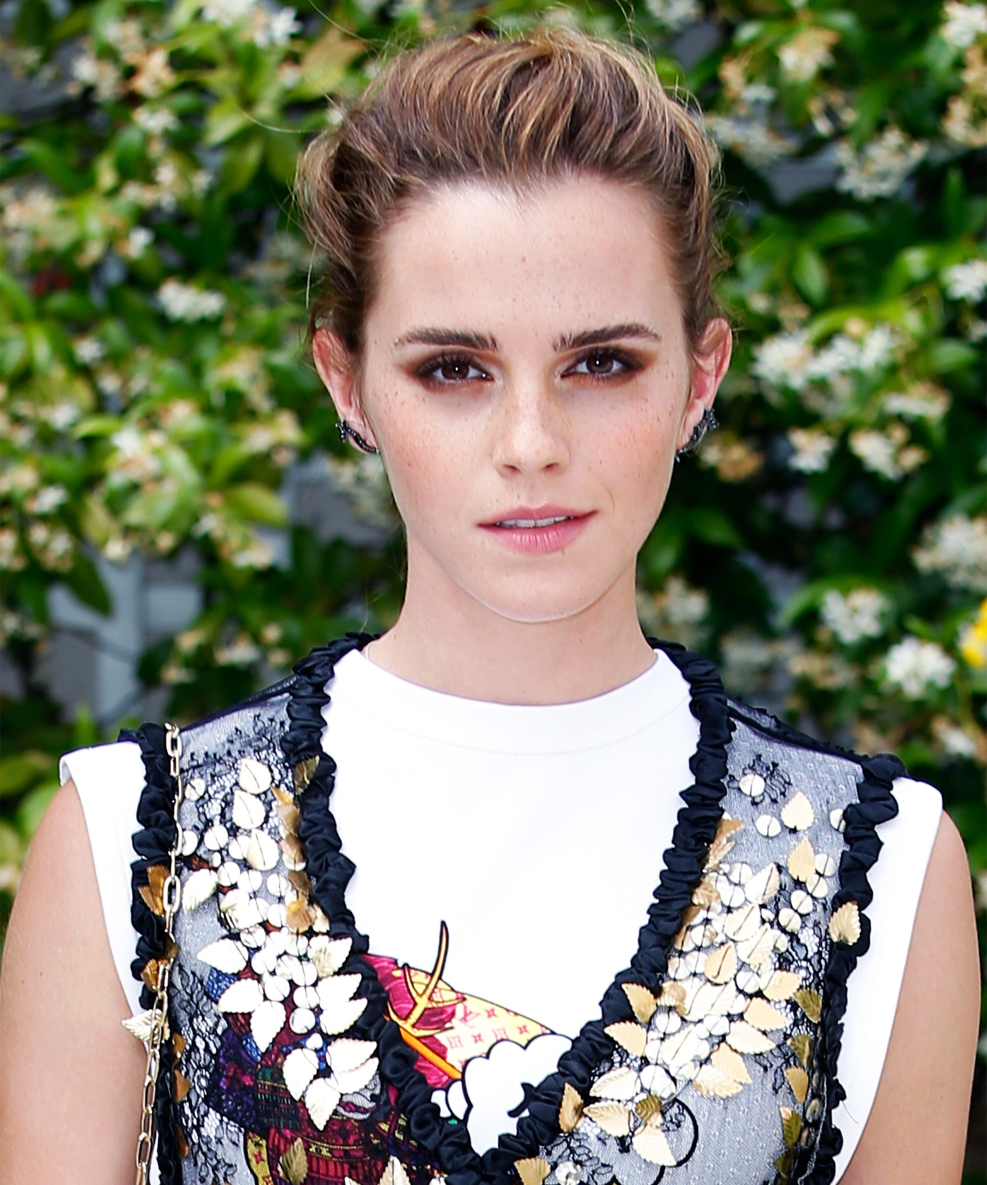 Emma Watson Hair Short Baby Bangs New Instagram