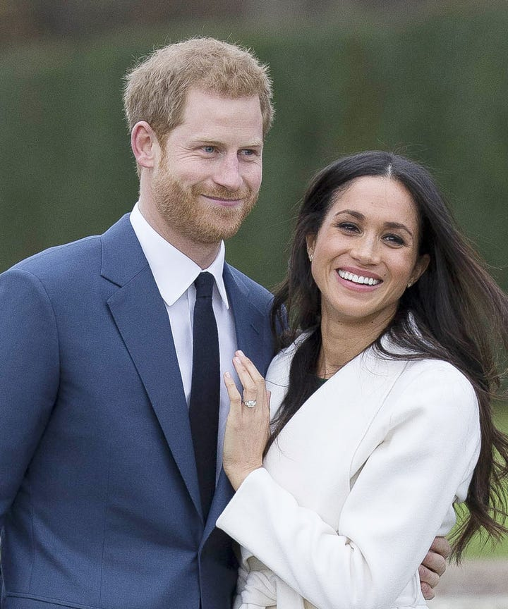 In Case You Havent Been Near A Screen Today Suits Actor Meghan Markle And Her Boyfriend Prince Harry Have Announced Their Engagement