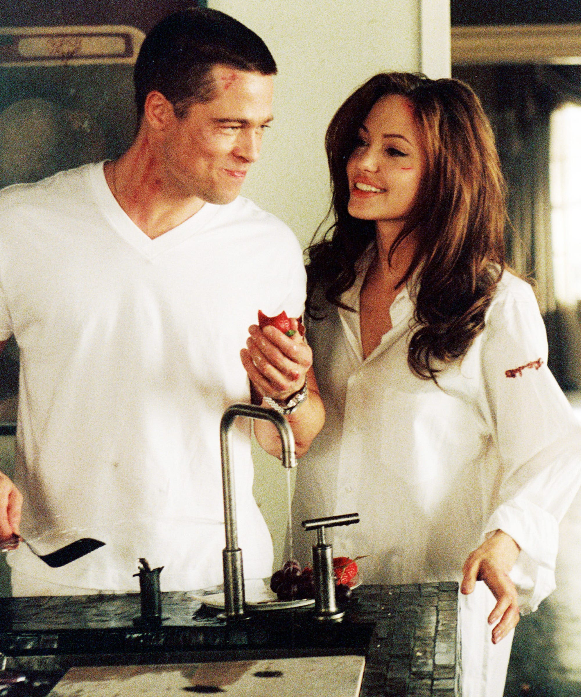 Actors Mr and Mrs Smith, one of the best films of 2005 31