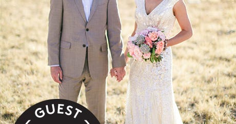 This Elegant, Simple Wedding Set In The Mountains Is Beyond Beautiful