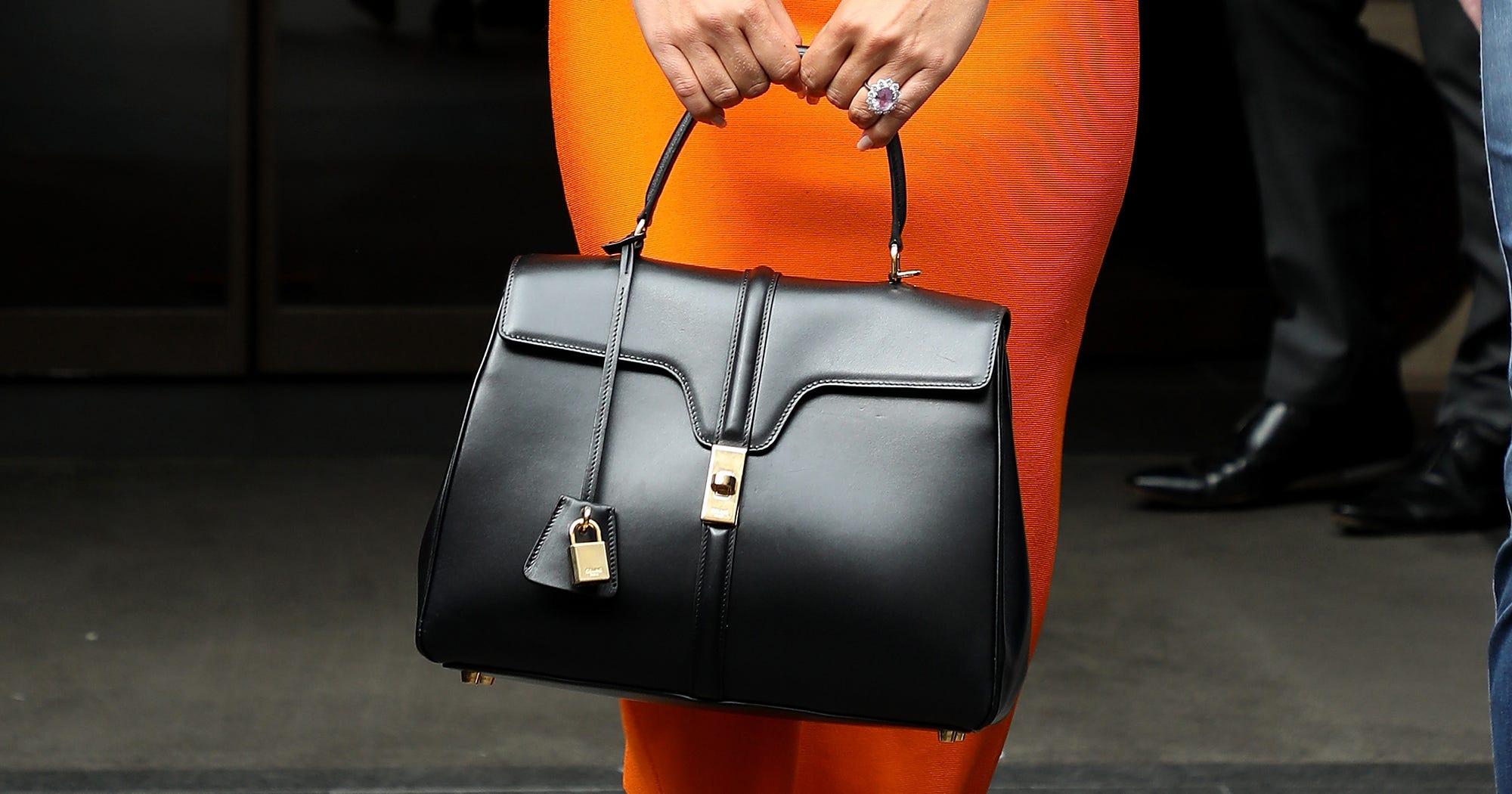 Lady Gaga Carries First Hedi Slimane Celine Bag edbf6ff26bd33