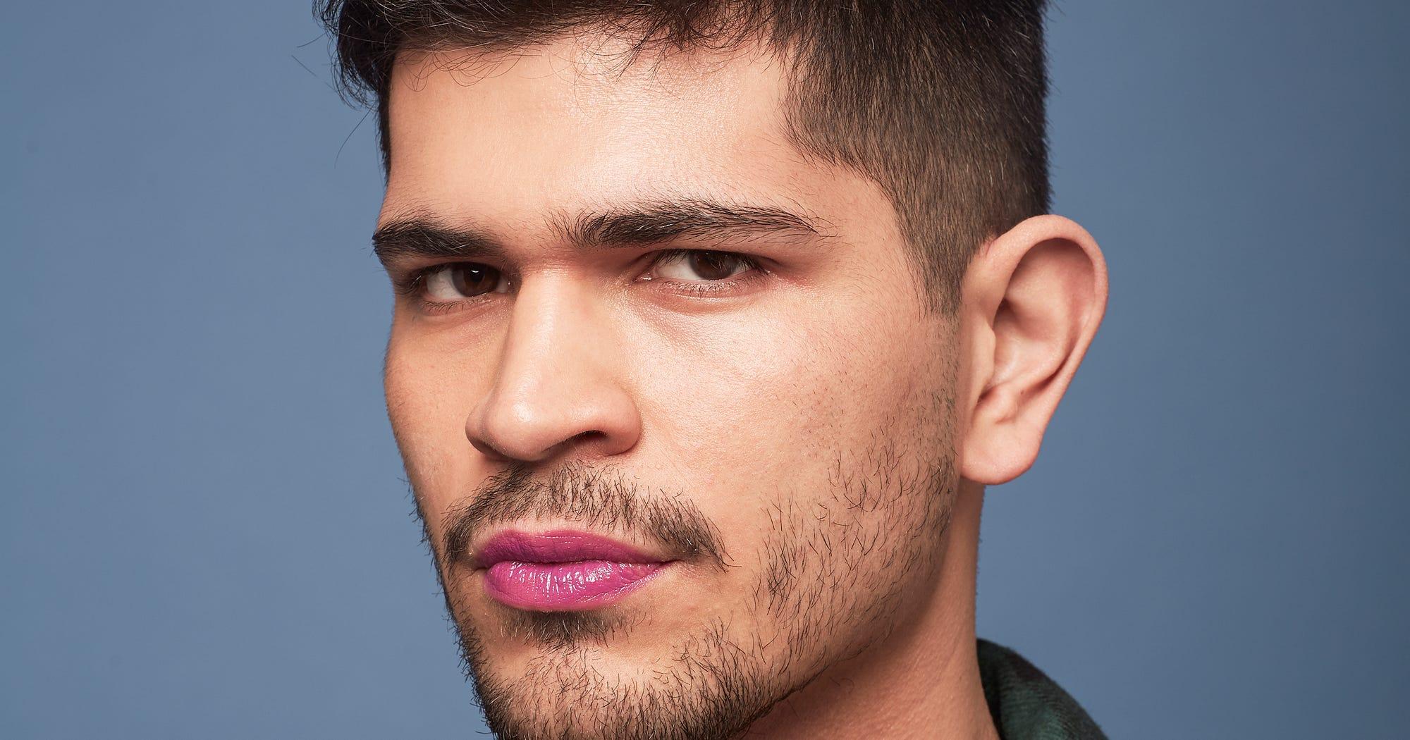 91368224dedf6 New Lipstick Trends On Male Models