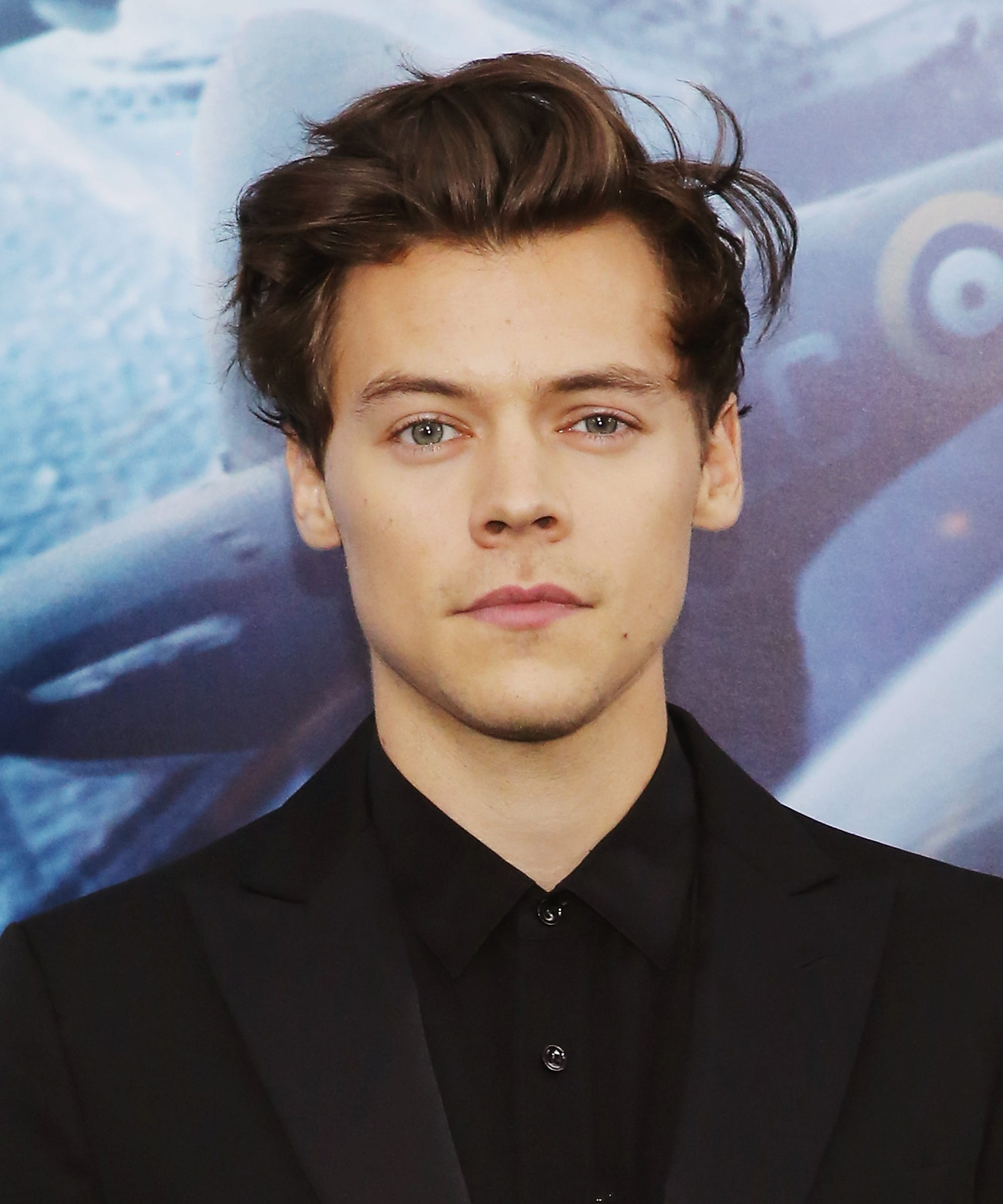 Harry Styles Shows Off New Beard And Mustache