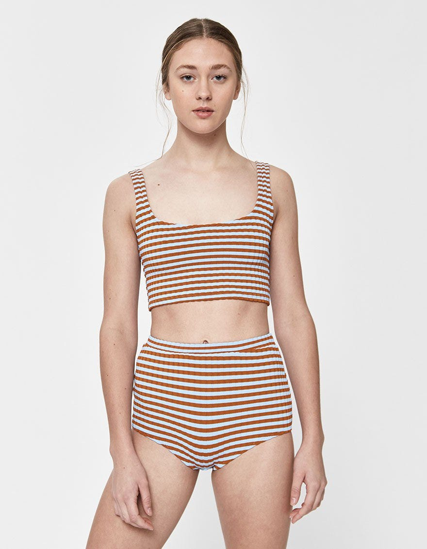 ad1807fe64074 The Throwback Beachwear Everyone Will Want This Summer