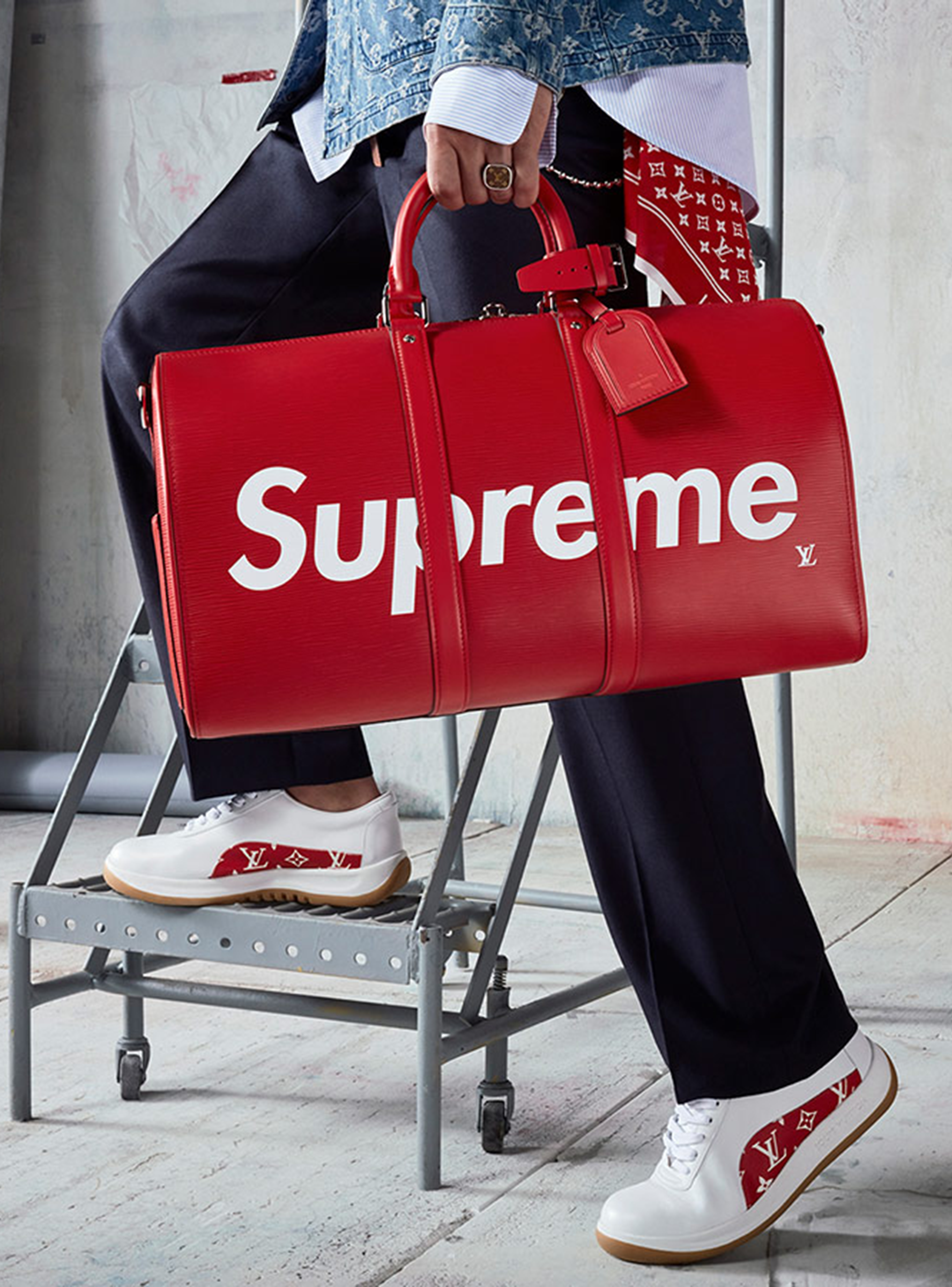 Supreme louis vuitton ebay resale value collaboration gumiabroncs Image collections