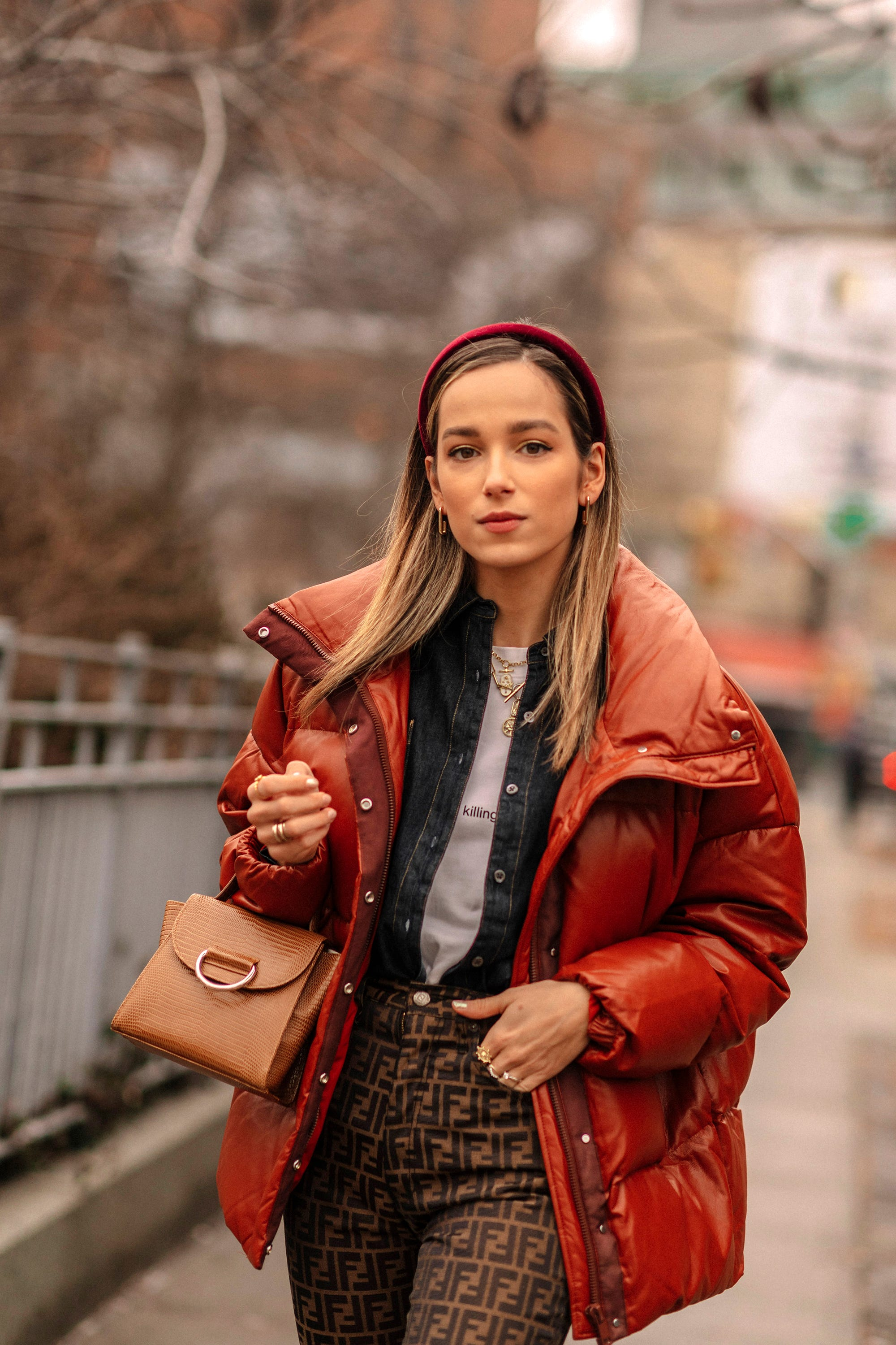 eb484b292c8 NYFW Street Style Hair Accessories Are Huge 2019 Trend