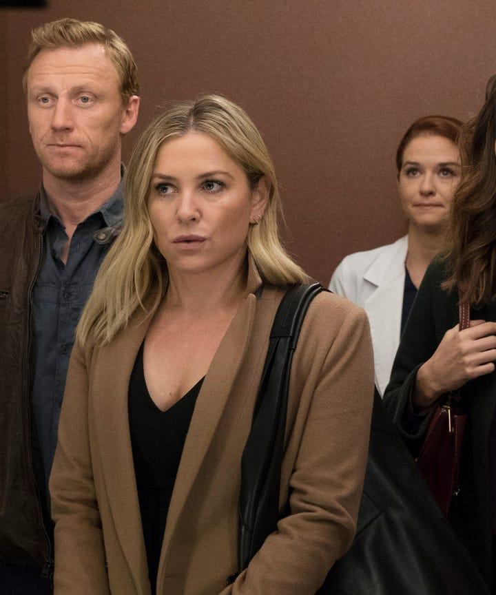 Greys Anatomy Sarah Drew Jessica Capshaw Exit Series