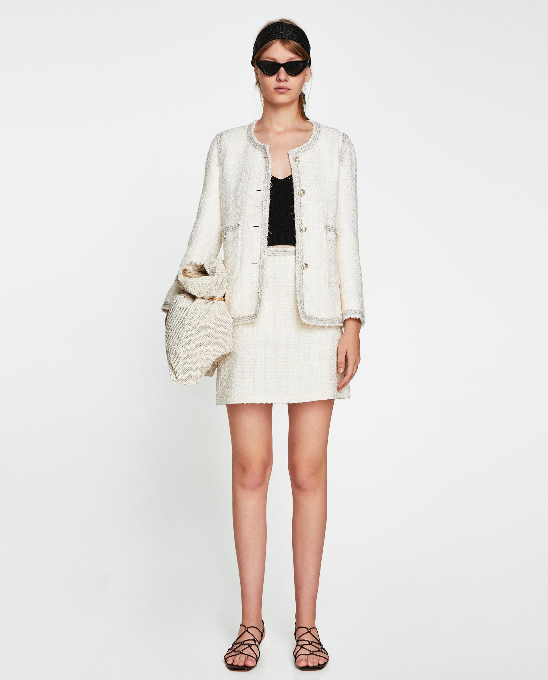 0edbf1146 New Mini Skirt Suit Workwear Trend, Summer Trends 2018