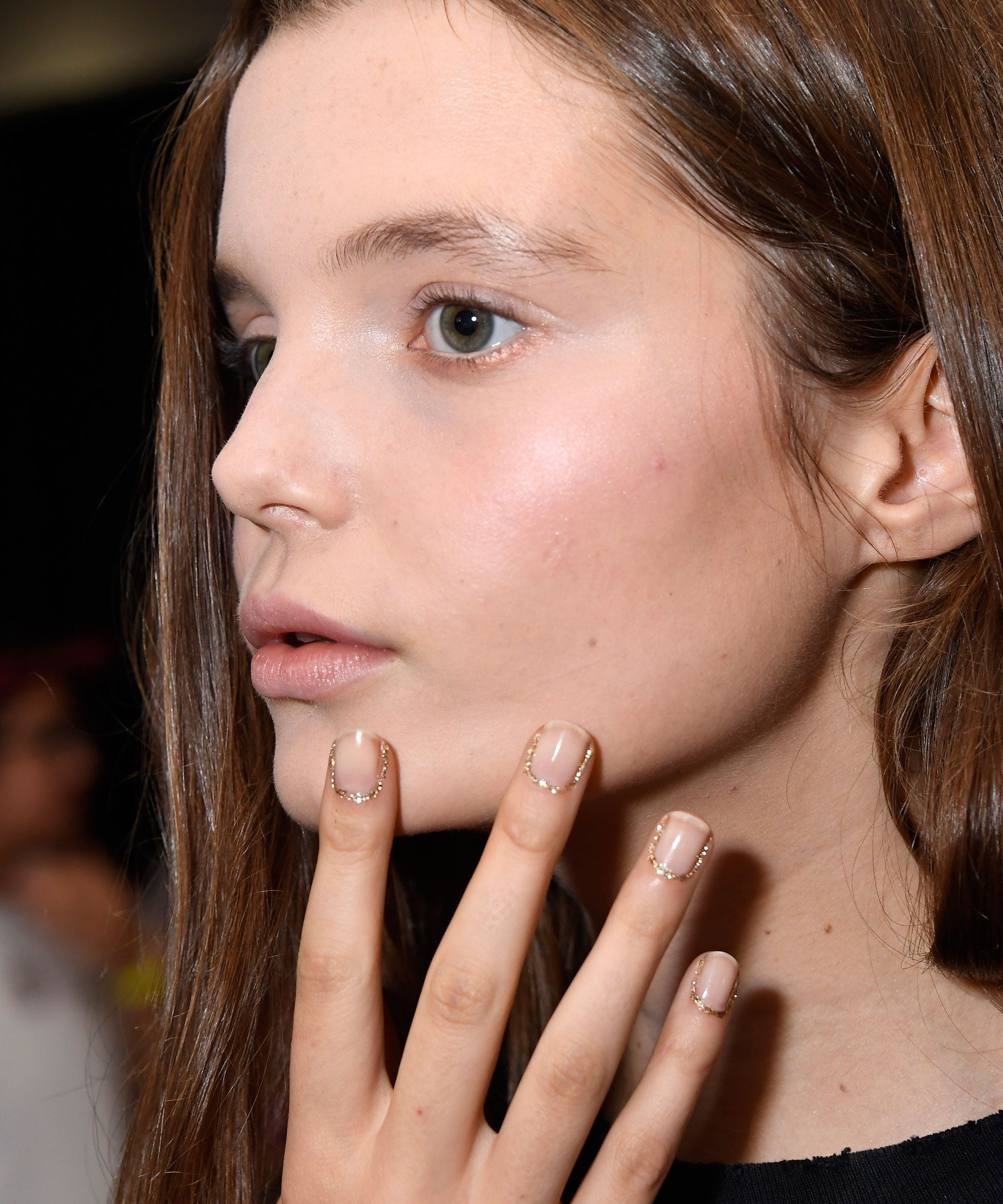 Nail Art Trends NYFW - Colorblocking, Furry