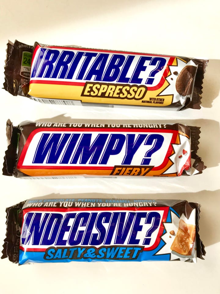 snickers new limited edition candy bar flavors review