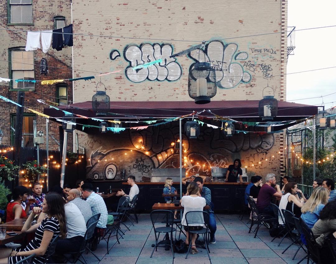 Outdoor Bar New York City