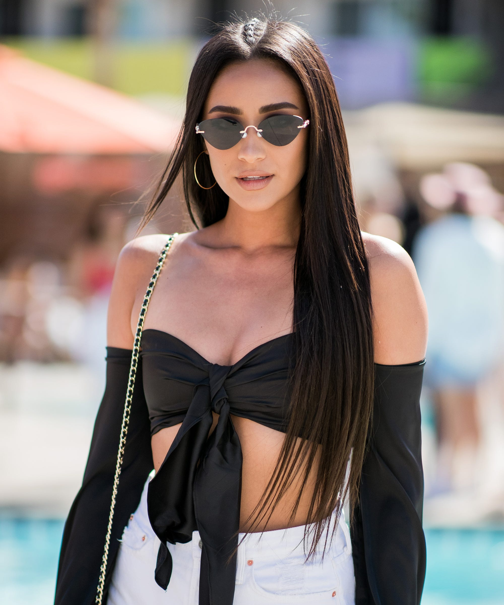 la celebrity long hair trend extension style for summer